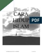 CaraHidupIslam_AbulAlaMawdudi