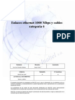 Links Ethernet 100 Mbps and Cable Category 6 Ing