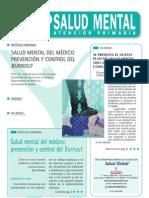 La Salud Mental Del médico-Burnout