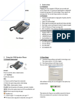 Yealink USB-P4K User Manual