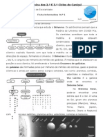 FI1-Origem e Estrutura Do Universo
