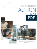 CFS (2009) Canada's Education Action Plan