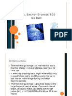 Thermal Energy Storage TES