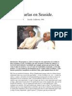 U. G. Krishnamurti - Charlas en Seaside