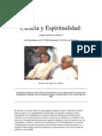 U. G. Krishnamurti - Ciencia y Espiritualidad