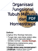 Organisasi Fungsional Tubuh Manusia Dan Homeostasis
