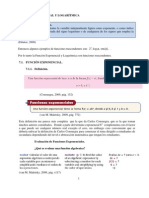 FUNCIÓN EXPONENCIAL Y LOGARÍTMICA2
