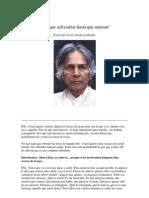 U. G. Krishnamurti - Hay Que Asfixiarlos Hasta Que Mueran