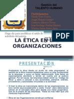 Etica en Las Organizaciones Expo Sic Ion
