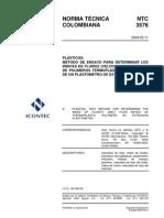 Norma Tecnica Plastometro
