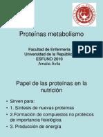 8 Proteínas- metabolismo clase 8