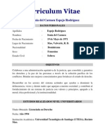 Espejo Rodríguez, Sonia del Carmen