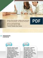 Prinsip-Prinsip Statistik