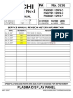 P50S601 Service Manual