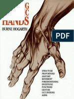 Burne Hogarth - Dynamic Hands