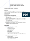 Syllabus-project Management New