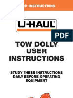 Userguide Towdolly