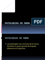 Patologias de Mama
