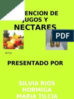 JUGOS Y NECTARES