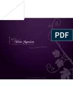 Wine Mansion Menu