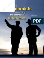 Agronomists and Biotech Traits