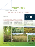 Polycultures in Modern Agriculture