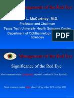 Mgmt of Red EyeNEW