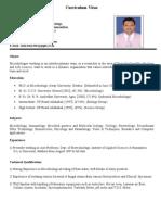 CV_Dr. Alok Bharadwaj