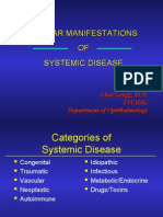 Ocular Manifestations of Systemic Disease