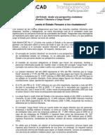Cuanto Nos Cuesta El Estado a Los Peruanos