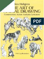 Ken Hulgtren - The Art of Animal Drawing (Eng)