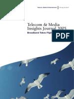 Telecom, Media & Entertainment Insights Journal Volume 1