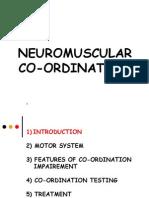 Neuromuscular Coordination