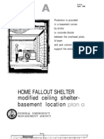 FEMA Home Fallout Shelter (Plan a) H-12-A WW