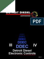 ddec ii and iii wiring diagrams diesel engine truck document
