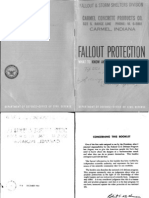 Fallout Protection (US Civil Defense ) H-6 WW