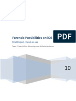 forensic possibilities on ios devices