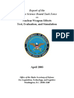 Nuclear Weapons Effects - Test, Evaluation and Simulation - US DOD (2005) WW