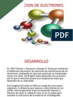 DIFRACCION DE ELECTRONES (2) agustin villaseñor