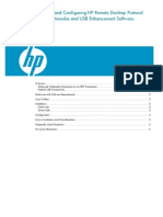 Installing and Configuring HP Remote Desktop Protocol (RDP) Multimedia and USB Enhancement Software for Linux