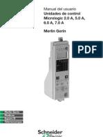Manual de usuario Micrologic 2.0A, 5.0A, 6.0A, 7.0A