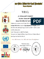 Certificato LM Portogallo