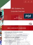 BEA Corporate Presentation QG