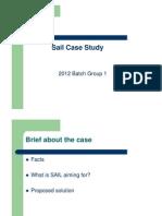 SAIL Case Study
