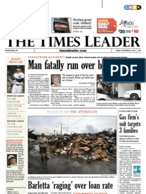 Times Leader 09 23 2011 John Boehner Republican Party United States