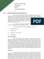 Assignment(Organisational Behaviour)