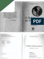 65328078 O Seminario Livro 19a O Saber Do a