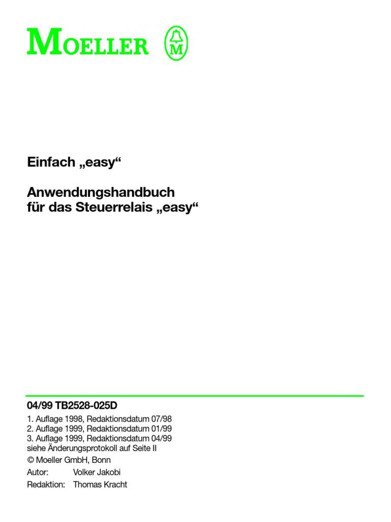 Easy Steuerrelais Handbuch