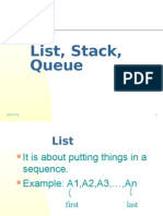 List Stack Queue ENG