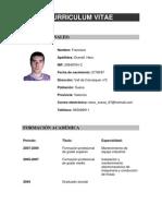 Curriculum Vitae 2011